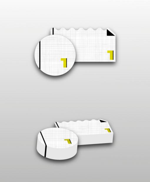 κάρτα περιμετρική κοπή ειδικό χαρτί