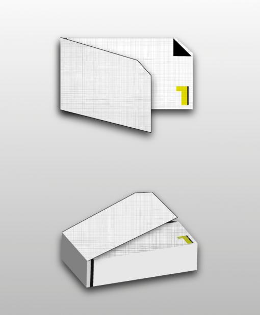 κάρτα διπλή ειδικό χαρτί