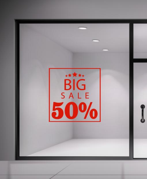 αυτοκόλλητο εκτώσεων big sale
