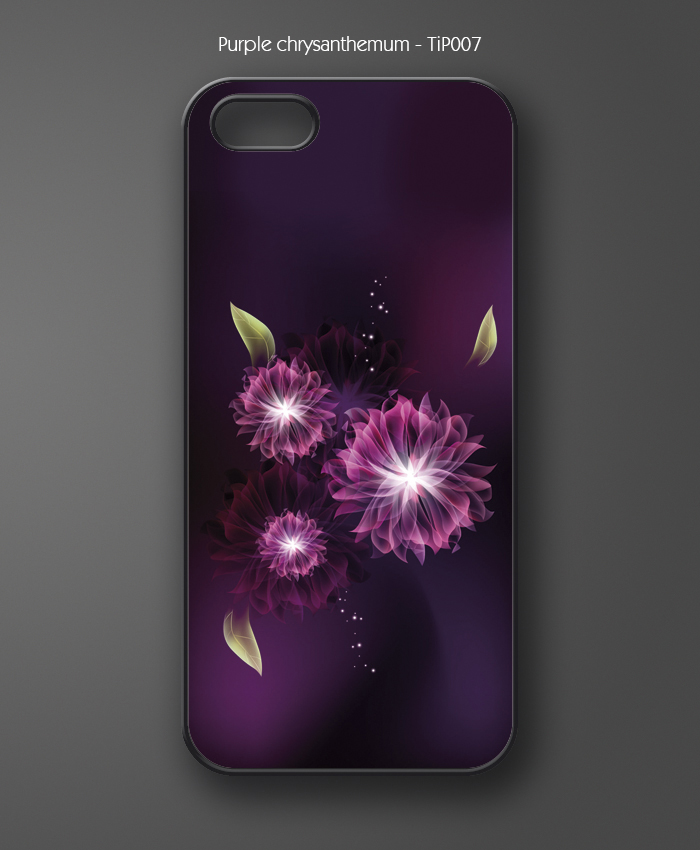 Purple chrysanthemum - TiP007