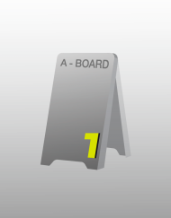 A Board stand