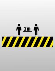 Κρατάμε απόσταση - Keep Distance 2m