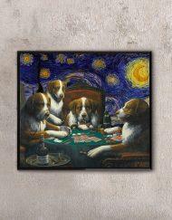 Starry Night & Poker Game Artwork