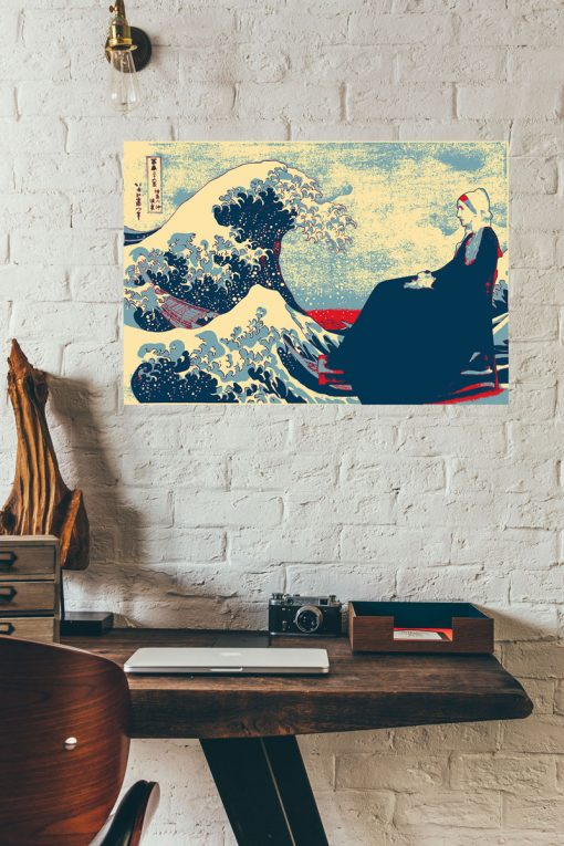 Great Wave off Kanagawa & Whistlers Mother